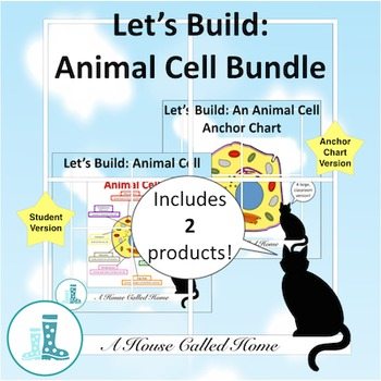 Cut And Paste Animal And Cells Teaching Resources Teachers Pay