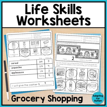 Grocery Shopping For Special Education Teaching Resources Teachers