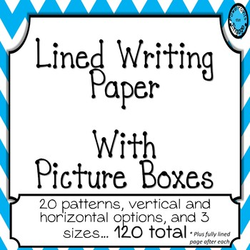 Lined Writing Paper with Drawing Boxes Part 2 by PowerPoints that Engage