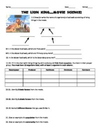 7th Grade Science Worksheet Ecology. 7th. Best Free ...