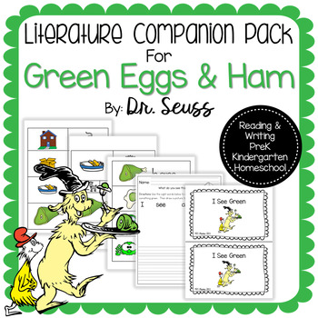 Green Eggs And Ham Writing Prompt Worksheets  Teaching Resources TpT