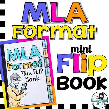 MLA Format (8th Edition) Mini Flip Book by The Daring English Teacher