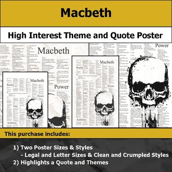 Macbeth Teaching Resources Teachers Pay Teachers