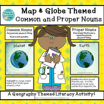 Map And Globe Sort Worksheets  Teaching Resources TpT