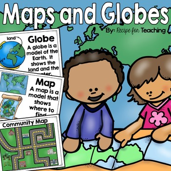 Maps And Globes Worksheets  Teaching Resources TpT