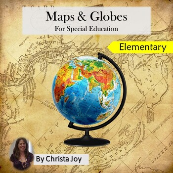 Maps And Globes Venn Diagram Worksheets  Teaching Resources TpT
