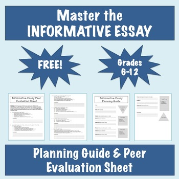 Master the Informative Essay Peer Evaluation Sheet and Planning