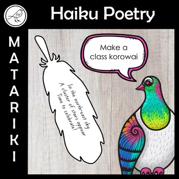 Matariki \u2013 Haiku Poetry Writing \u2013 Make a feather korowai TpT