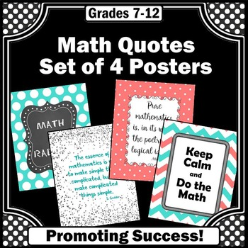 Keep Calm and Do Math Posters, Teacher Appreciation Gift 8x10 or