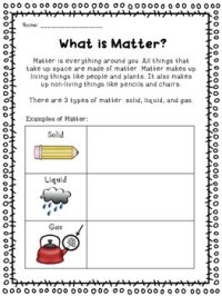 Matter (Common Core Activities, Experiments... by Second ...