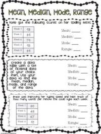 Finding Median Worksheets Answer Key Math. Finding. Best ...