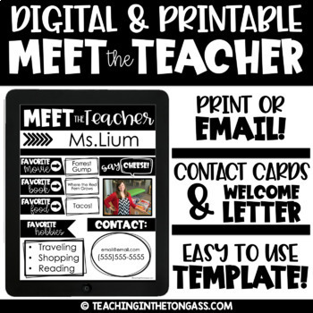 Welcome Letter To Parents Template Teaching Resources Teachers Pay - teacher welcome back letter
