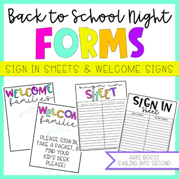 meet the teacher sign in sheet Worksheets  Teaching Resources TpT