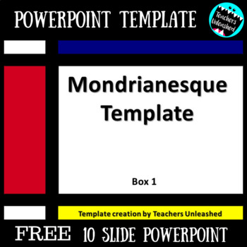 PowerPoint Template - FREE by Teachers Unleashed TpT