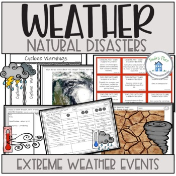 Natural Disasters and Extreme Weather by Paula\u0027s Place TpT