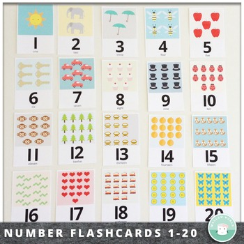 Number Flash Teaching Resources Teachers Pay Teachers
