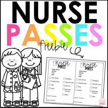 Nurse Notes FREEBIE by Ashley\u0027s Golden Apples TpT