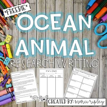 Ocean Animal Research Project -- Everything you Need! TpT