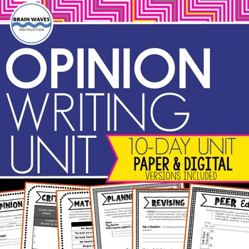 Opinion Writing - Writing a Persuasive Business Letter - Opinion