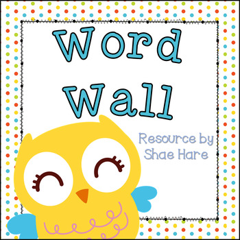 Owl Theme Word Wall and Headers Fry and Dolch Sight Words Flash Cards - dolch sight word flashcards
