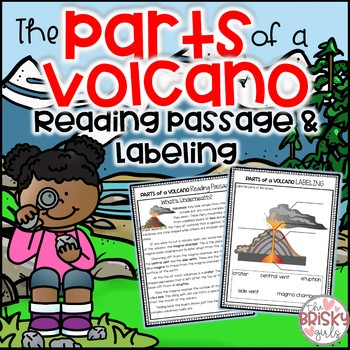 Parts of a Volcano by The Brisky Girls Teachers Pay Teachers