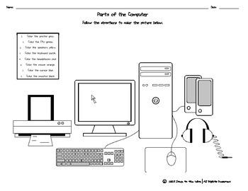 pc wire diagram