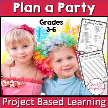 PROJECT BASED LEARNING MATH ACTIVITY PARTY PLANNER With Decimals