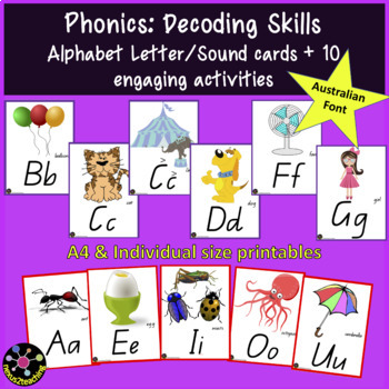Alphabet Initial Letter Sounds Interactive Printable Resources