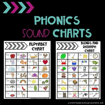 Phonics Sounds Chart Worksheets  Teaching Resources TpT