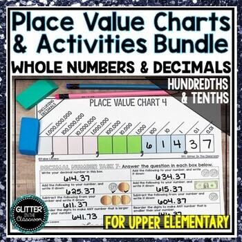 Blank Place Value Chart With Decimals Teaching Resources Teachers