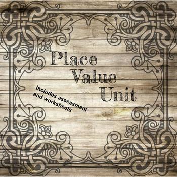 Place Value Unit by Plan Teach Learn Teachers Pay Teachers - place value unit