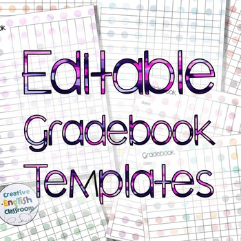Gradebook Template Teaching Resources Teachers Pay Teachers - Gradebook Template
