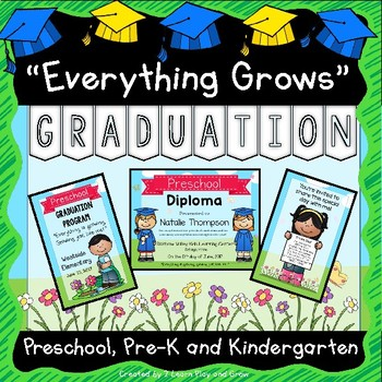 Graduation Diplomas, Invitations, Program, Poems, Songs and more
