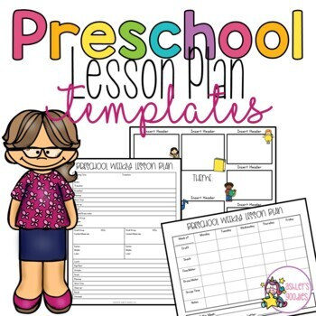 Preschool Lesson Plan Template Teaching Resources Teachers Pay - Preschool Lesson Plan Template