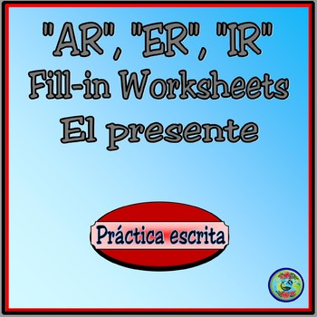 blank spanish verb conjugation chart Worksheets  Teaching Resources