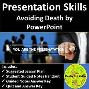 Presentation Skills Avoiding Death by PowerPoint by Making ELA Matter