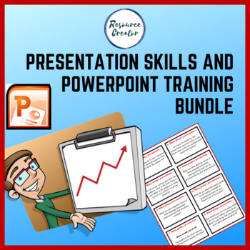 Presentation Skills and Microsoft Powerpoint training Bundle TpT