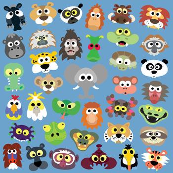 Printable Jungle Animal Masks by Masketeers Teachers Pay Teachers