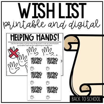 Printable Sticky Note Template Back to School Night by The