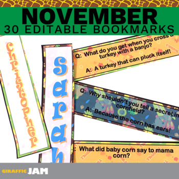 Editable Personalized Bookmarks Teaching Resources Teachers Pay
