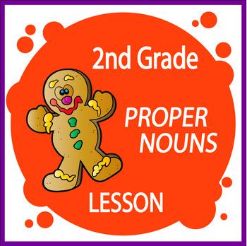 Proper Nouns Activities + COMPLETE Lesson and Proper Nouns Worksheet