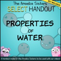 Properties of Water- SELECT Recap Handout + Answer Key by ...