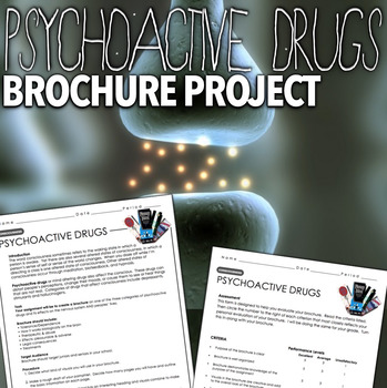 Psychology Consciousness - Psychoactive Drugs Project by Lesson