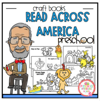 Read Across America Book Crafts by Preschool Printable TpT