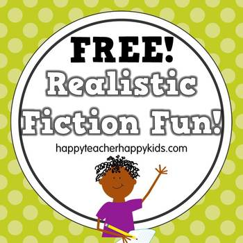 Realistic Fiction Graphic Organizers by Happy Teacher Happy Kids