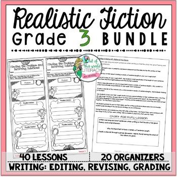 Realistic Fiction Unit of Study Grade 3 BUNDLE by Jen Bengel TpT