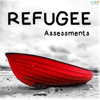 Refugee by Alan Gratz Tests, Comprehension Quizzes, Essays by LIT - novel essays