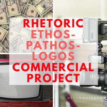 Rhetoric Practice/ Ethos Pathos Logos Commercial Project by HeyEmmaTeach