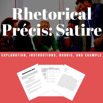 Rhetorical Precis Teaching Resources Teachers Pay Teachers - rhetorical precis template