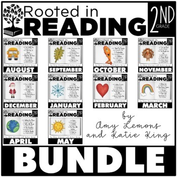 Rooted in Reading The Bundle by Amy Lemons Teachers Pay Teachers